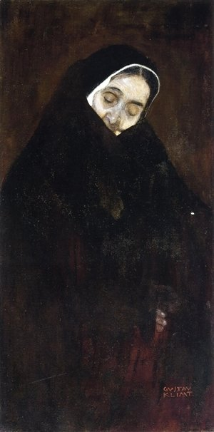Gustav Klimt - Old Woman