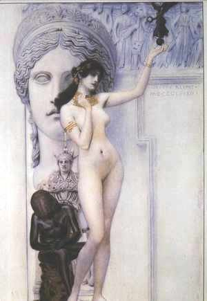Gustav Klimt - Allegory of Sculpture
