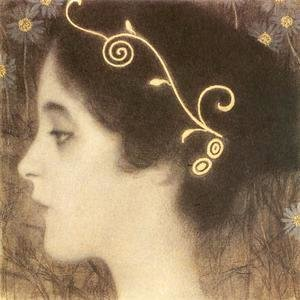 Gustav Klimt - Sketch for the Allegory 'Junius' (detail)