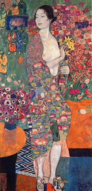 Gustav Klimt - Die Tanzerin (The Dancer) 1916-18