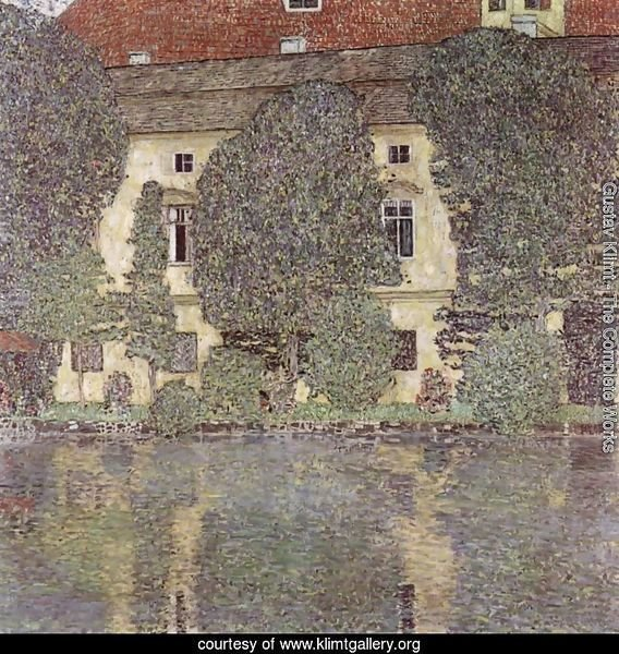 Schloss Kammer on the Attersee 1910