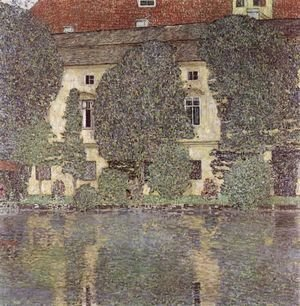 Gustav Klimt - Schloss Kammer on the Attersee 1910