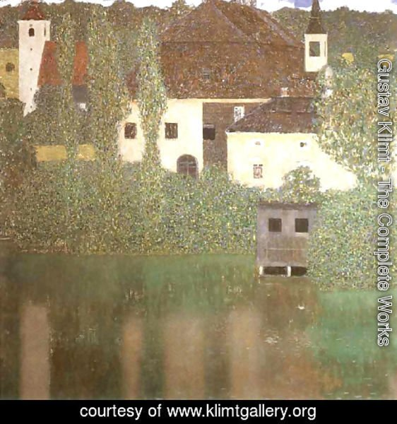 Gustav Klimt - Schloss Kammer on the Attersee I 1910