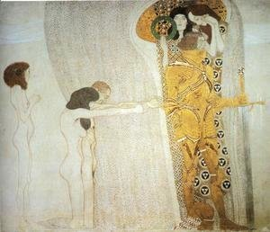 Gustav Klimt - The Bethoven Frieze I 1902