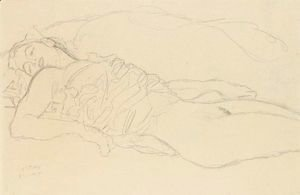 Liegende (Reclining Woman)