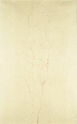 Female Standing Nude