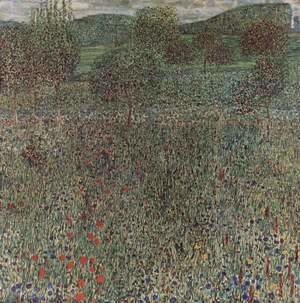 Gustav Klimt - Bloom field