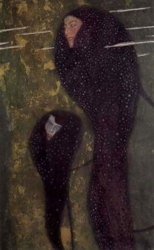 Gustav Klimt - The sirens