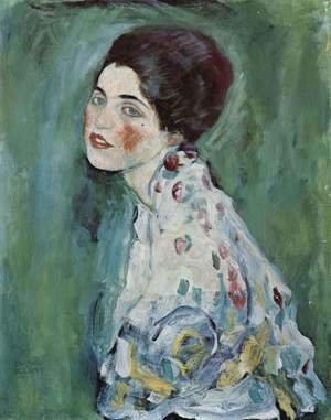 Gustav Klimt - Portrait of a lady 2