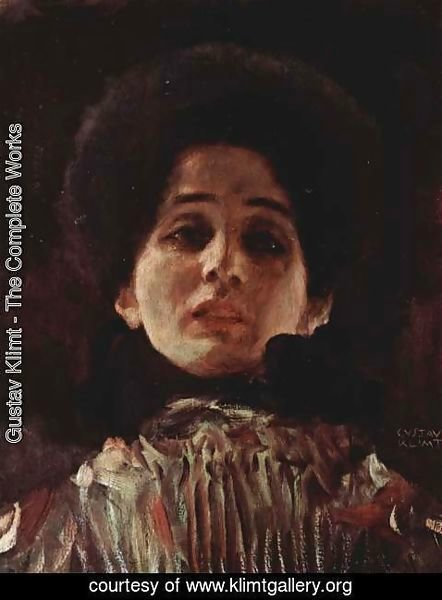 Gustav Klimt - Portrait of a lady 3
