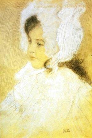 Gustav Klimt - Portrait of a Girl