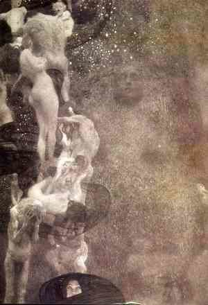 Gustav Klimt - Philosophy (final state)