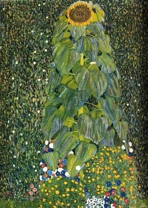 Gustav Klimt - The Sunflower