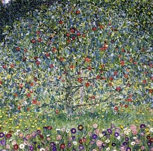 Gustav Klimt - Apple Tree I