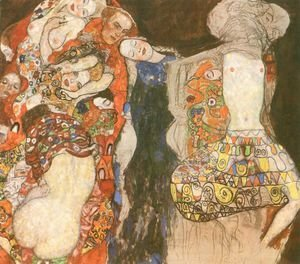 Gustav Klimt - Bride The (unfinished)