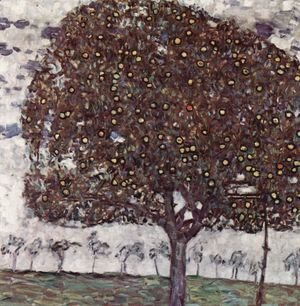 Gustav Klimt - Apple Tree II 1916