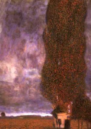 Gustav Klimt - The Large Poplar II