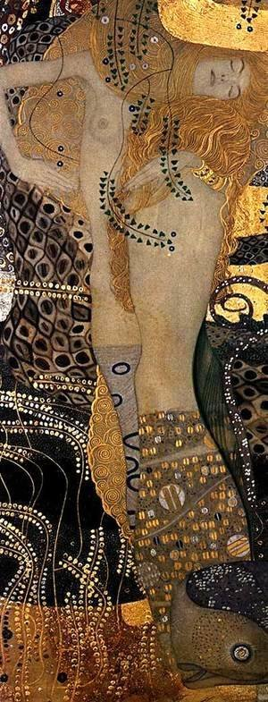Gustav Klimt - Water Serpents I