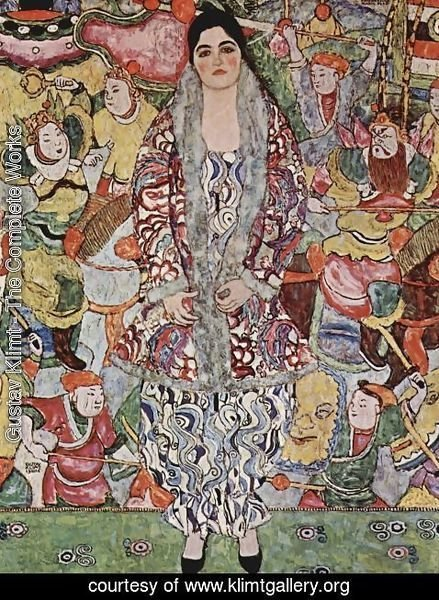 Gustav Klimt - Portrait Of Friederike Maria Beer