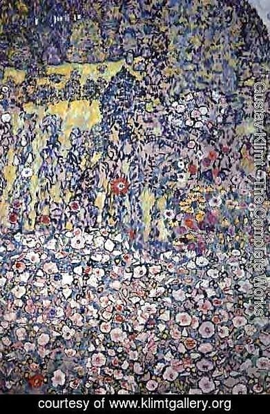 Gustav Klimt - Garden On The Hill
