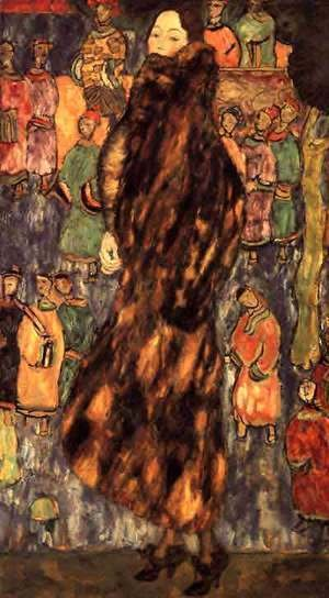 Gustav Klimt - Polecat Fur The (unfinished)
