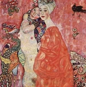 Gustav Klimt - The Woman Friends