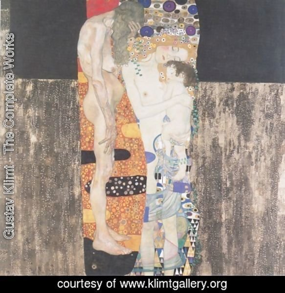 Gustav Klimt - The Three Ages Of Woman
