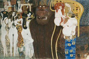 Gustav Klimt - The Hostile Powers