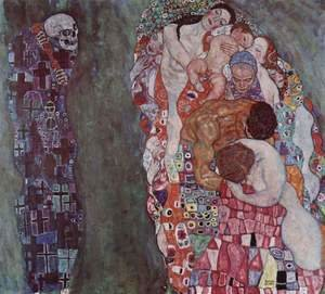 Gustav Klimt - Death and Life 1911
