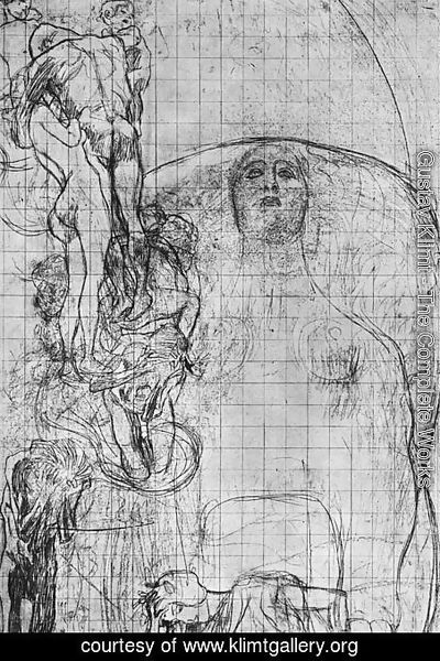 Gustav Klimt - Study for Philosophy  1898-99